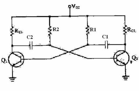 多谐振荡器电路结构