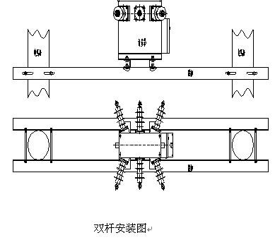 2)高压计量箱按结构特点分为:   两元件高压计量箱和三元件高压