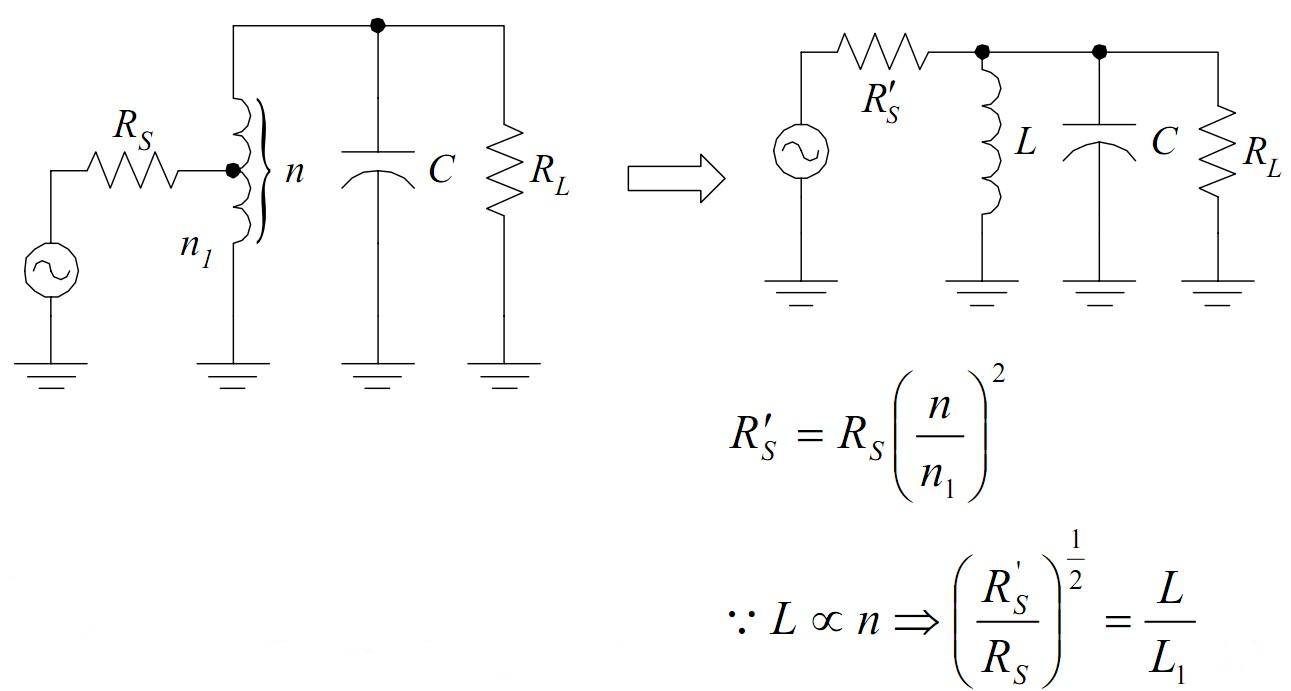 电感抽头谐振电路