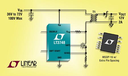 高压隔离型反激式转换器