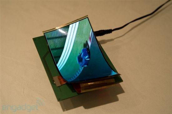 三星展示19寸透明AMOLED屏