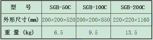 交直流数字高压表外形尺寸及重量