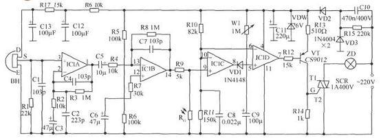 水塔水位控制器,水塔水位控制器的结构