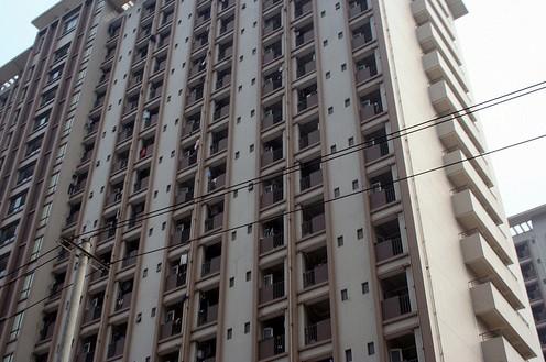 富士康成都工厂的工人宿舍