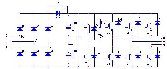 变频器主电路原理