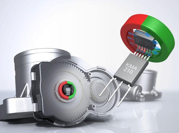 恩智浦推出kma210系列汽车位置传感器
