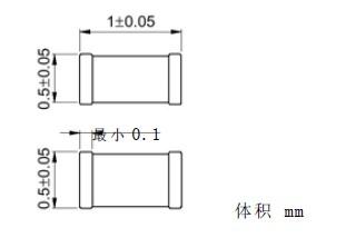 TDK电容0805形状及尺寸