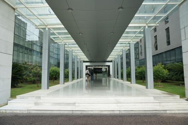 魅族珠海办公大楼入口