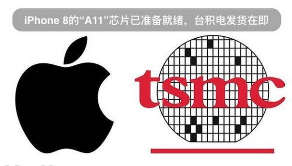 """iPhone 8的""""A11""""芯片已准备就绪,发货在即"""