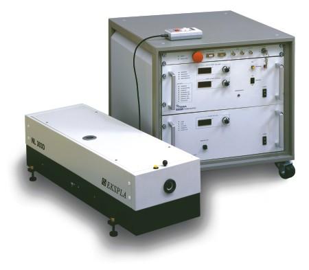 用于粒子成像测速(piv)双腔nd:yag激光器
