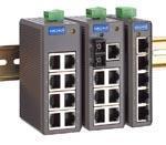 :MOXA EDS-208 8端口工业以太网交换机