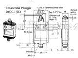 LSW 1A 30VDC LED - D4CC-4003限位开关