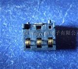2.54pitch 6.2H 3pin�炔迨诫�池座SM-BAT03-003