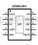 LM3409MY可驱动高功率LED的PowerWerWisePFET