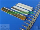 DF19 1.0mm间距连接器 胶壳 端子 SMT 针座