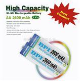 镍氢高容量数码电池AA2600mAh