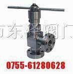《L44Y高压角式节流阀》电动、气动、手动、蜗轮