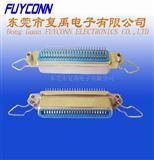 57连接器/CN连接器-180度50S母后铆螺母勾耳连接器