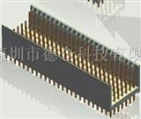 2mm连接器   2mm背板和印制板连接器