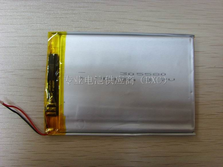 聚合物锂电池305580图片
