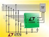 LTC2938 - 具开门狗定时器的可配置 4 电源监视器