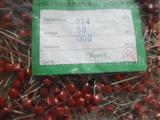 金属化聚酯薄膜电容器100V224