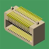 0.8mm单槽侧插板对板连接器--专业制造