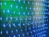 220伏蓝色LED网灯墙25W