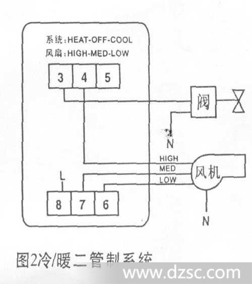 机械膜盒温控器 房间温控器