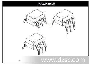 优质光耦MOC3021 DIP-6 仙童