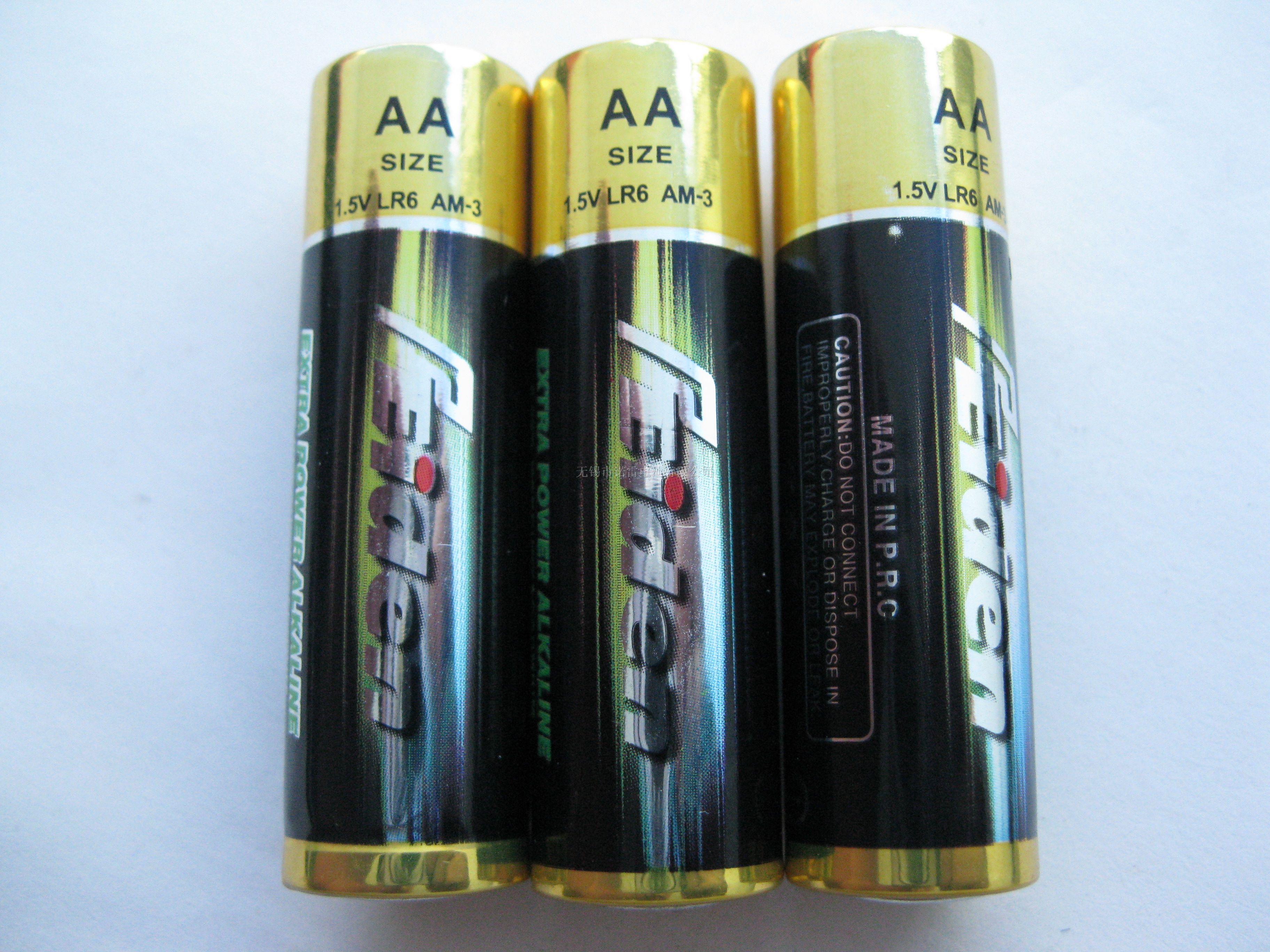 lr6 aa 5号环保高能碱性电池