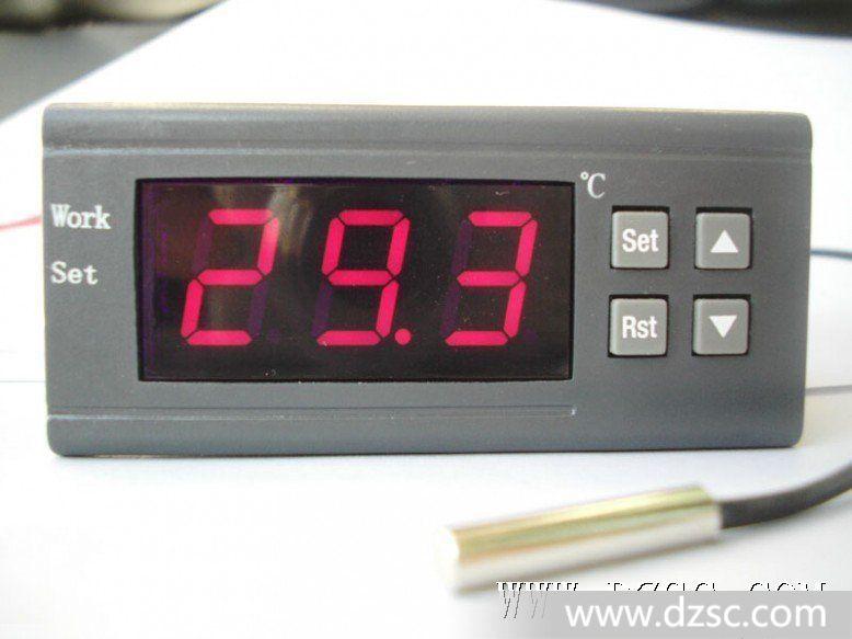 报警输出 接线柱4和5:接电源220v 接线柱6和7:短路后可锁定温控器
