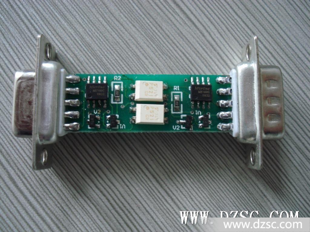 9芯rs235串口接线图