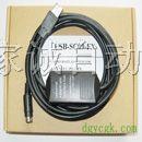 串口和USB接口的三菱PLC//触摸屏//伺服编程电缆
