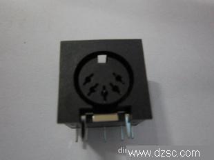 五芯插座(接插件)耦合插座