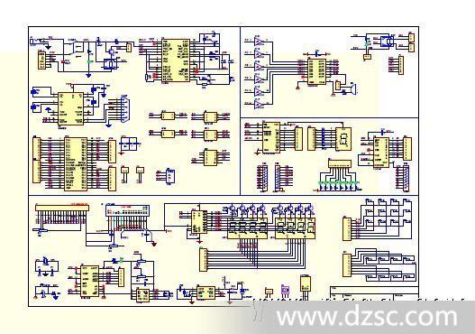 hc6800开发板,51单片机学习板,51开发板!