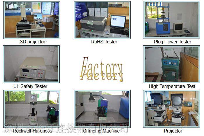 先进的检测设备及生产设备