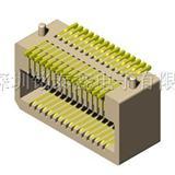侧插板对板连接器,0.8间距板对板连接器