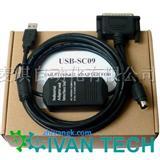 三菱USB接口编程电缆