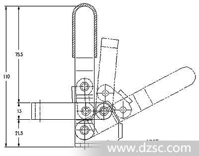 工装夹具 快速夹具 垂直式夹钳 夹子 快速夹 定位