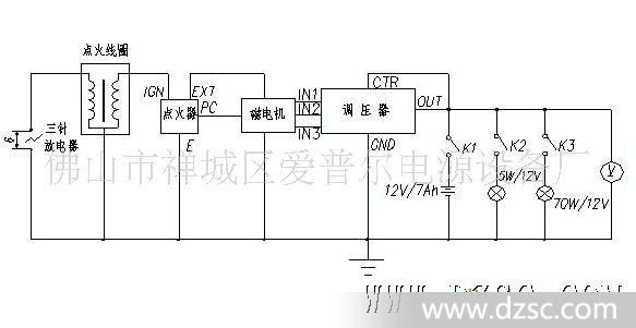 七线电风扇电机接线图解