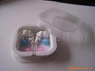 JS-2095   mp3耳机   方盒苹果耳机  礼品方盒耳机