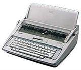 兄弟打字机GX-8250 菊花字盘电子英文打字机