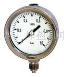 Solution斯卢森EN837-1压力表不锈钢波登管式压力表