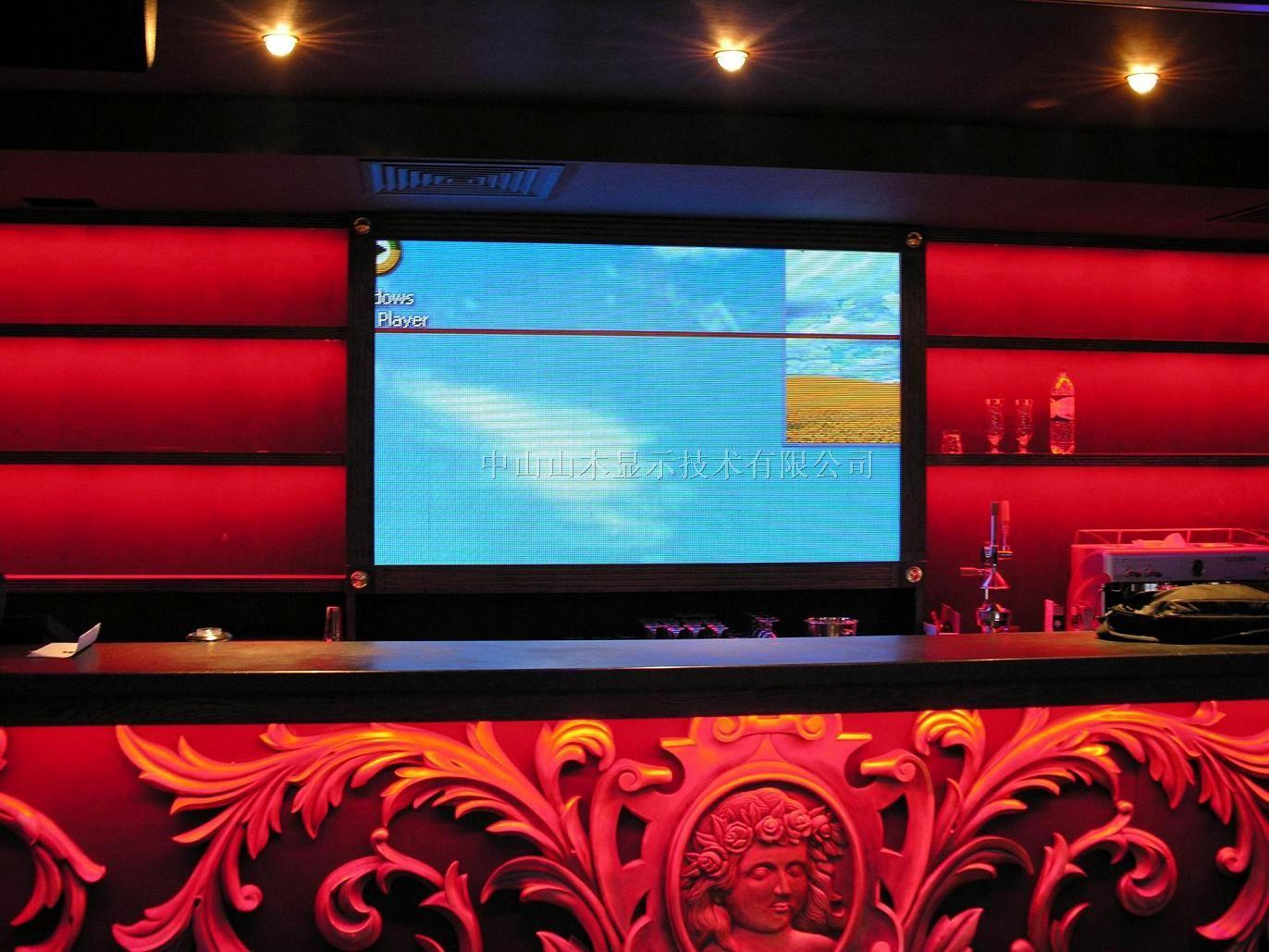 珠海市室内KTV显示屏,高档俱乐部LED显示屏