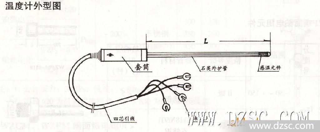 wzpb-6工作基准铂电阻温度计