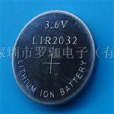 可充电池LIR2032电池商