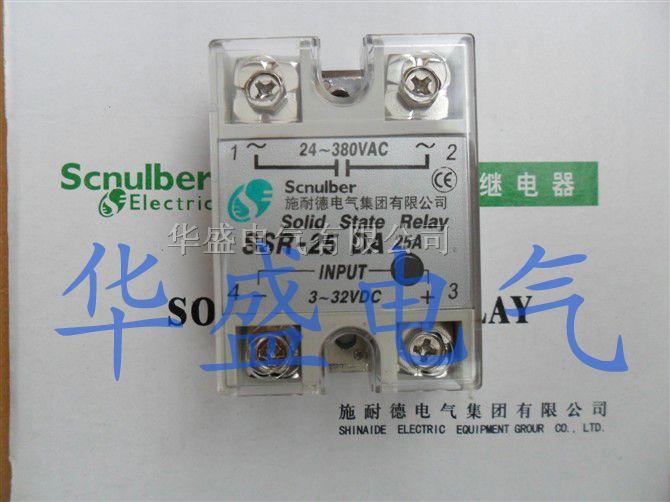 施耐德单相固态继电器ssr-25da