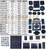 太阳能电池板单多晶滴胶组件