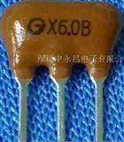 电视机录像机陶瓷滤波器XT5.5MB XT6.0MB XT6.5MB